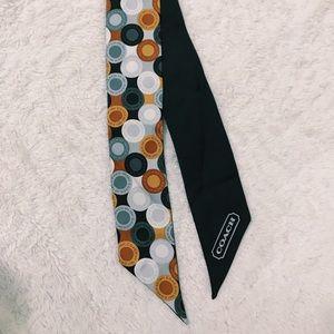 Silk coach scarf
